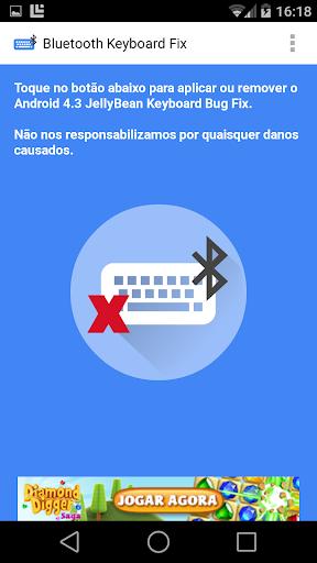 Bluetooth Keyboard Bug Fix