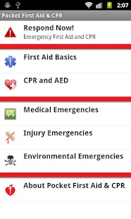 Pocket First Aid & CPR - screenshot thumbnail