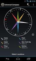 Screenshot of Universal Compass Demo