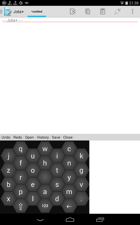 Keybee, The Smart Keyboard - screenshot