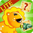Enfants Puzzle: match Animaux icon