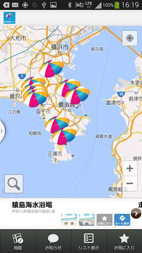 玩免費娛樂APP|下載海水浴場マップ app不用錢|硬是要APP
