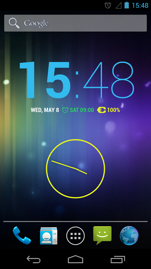 Clock JB+- screenshot