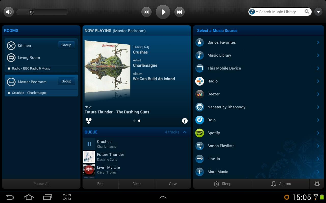 Sonos Controller Para Android - screenshot