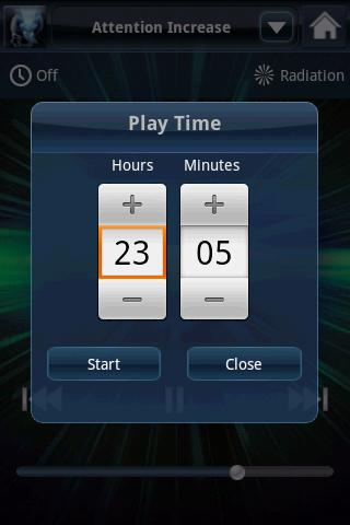 Brainwave Tuner Lite - screenshot