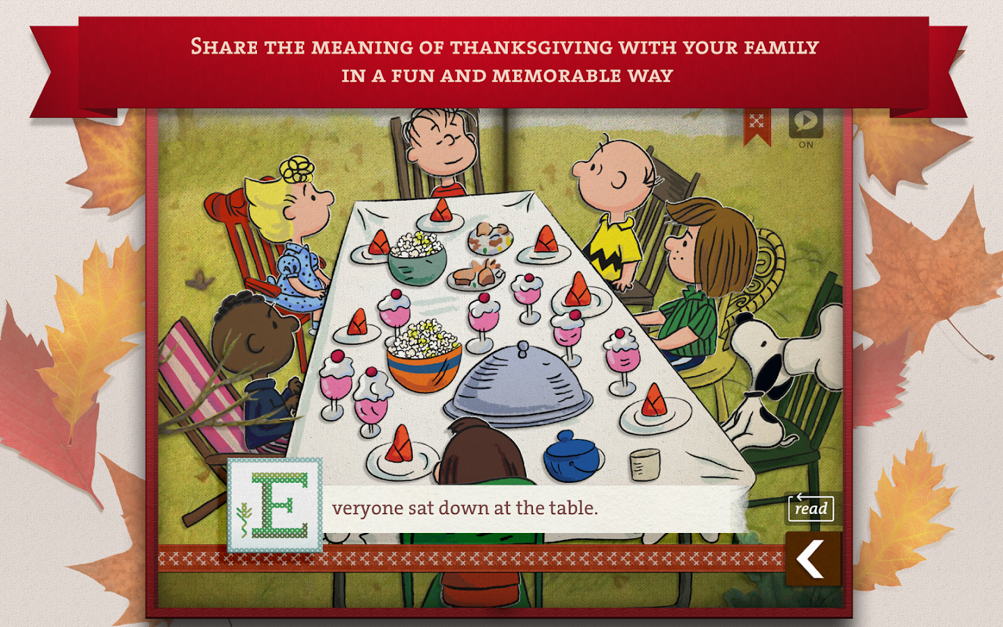 A Charlie Brown Thanksgiving - screenshot