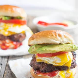 Brazilian Burger with Egg.