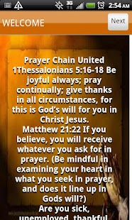 Prayer Chain United - screenshot thumbnail