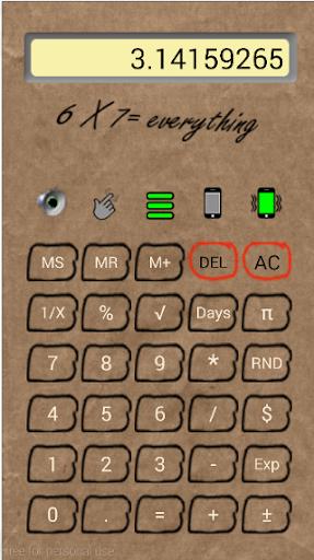 BrownPaper Calculator F