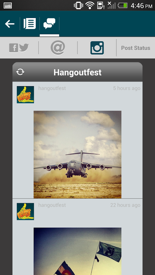 Hangout Festival - screenshot