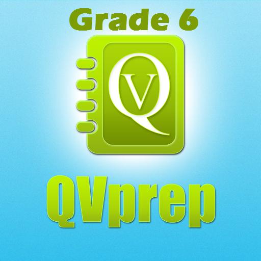qvprep数学英语6级练习测试 教育 LOGO-玩APPs