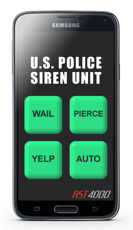 u s police siren android apps on google play. Black Bedroom Furniture Sets. Home Design Ideas