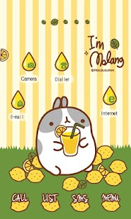 CUKI Theme lemonade molang