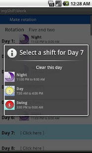 myShiftWork - screenshot thumbnail