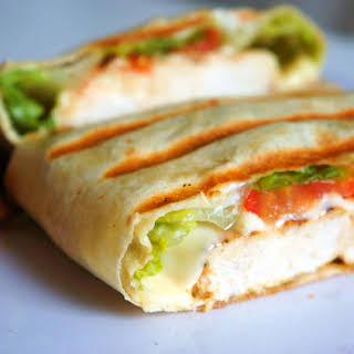 Cajun Chicken Wrap.
