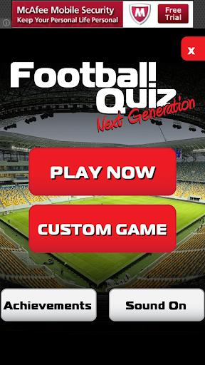 Football Quiz Next Generation