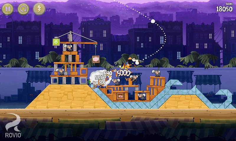 Angry Birds Rio - screenshot