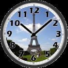 Tour Eiffel Day Clock icon