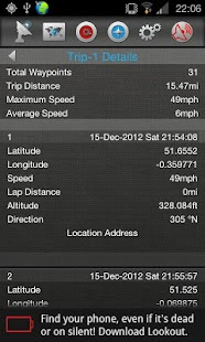 Gps Traveler - screenshot thumbnail