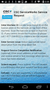 CSC ServiceWorksServiceRequest - screenshot thumbnail