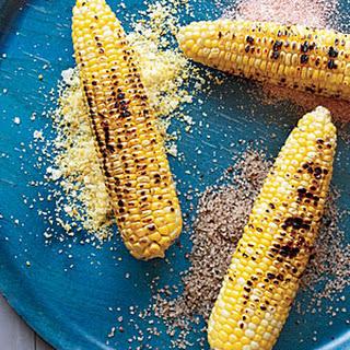 Corn on the Cob with Seasoned Salts.