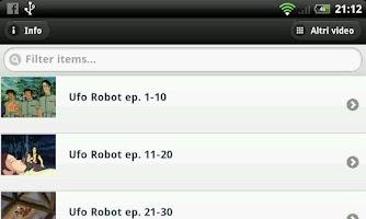 Screenshot of Ufo Robot Goldrake