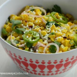 Grilled Corn Salad.