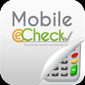 Mobile eCheck