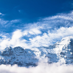 Eiger by Alexander Kulla - Landscapes Mountains & Hills ( swiss, mountain, urlaub, schwiiz, grindelwald, berner oberland, schweiz, europa,  )