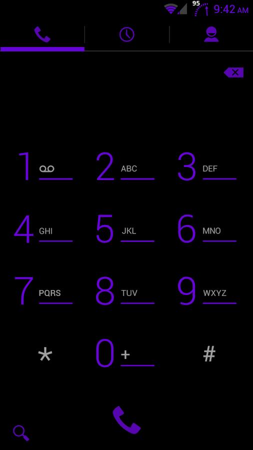 Purple Haze CM10.1 Theme - screenshot