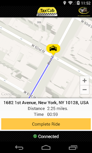 TaxiCab Driver App- screenshot thumbnail