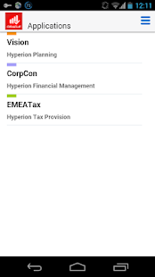 Oracle EPM Mobile- screenshot thumbnail