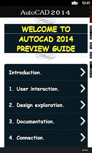 AutoCAD 2014 Preview