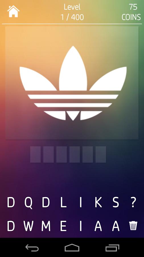 Shadow Quiz Logos - screenshot