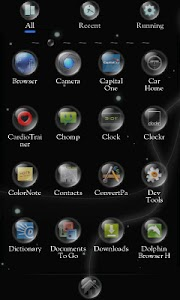 Equinox Sphere Go Theme screenshot 1
