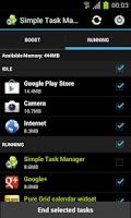Screenshot of Simple Task Manager