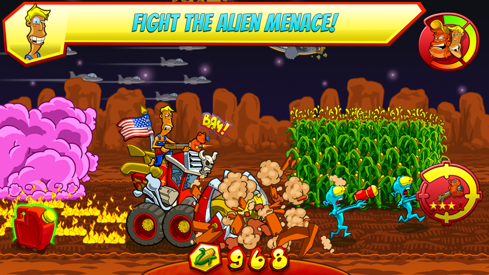 Farm Invasion USA - Premium - screenshot