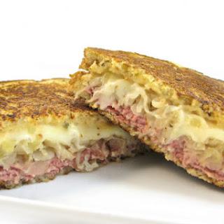 Skinny Grilled Reuben Sandwich
