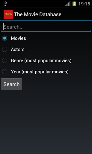 The Movie Database Search