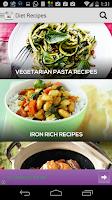 Screenshot of Diet Plan Recipes Free