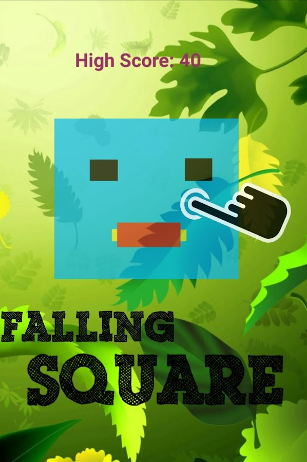 Falling Square- screenshot