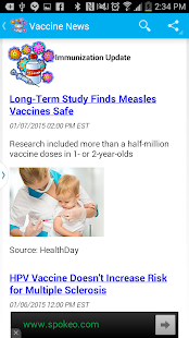 Vaccines-Immunizations Updates- screenshot thumbnail