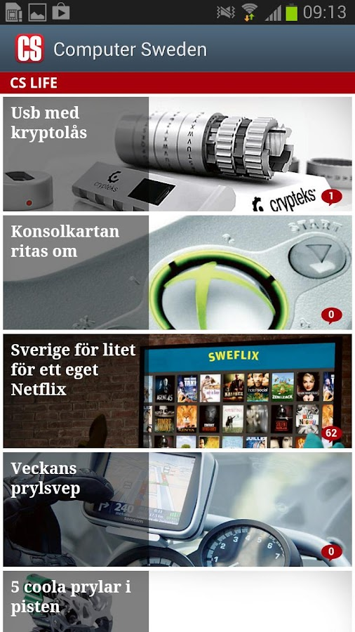 Computer Sweden - screenshot