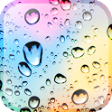 Rainy Autumn Glass LWP icon