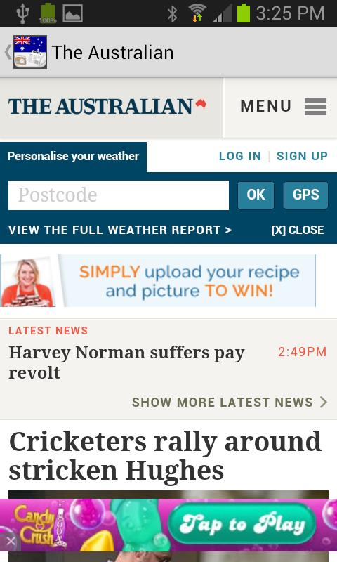 OZ Radio News - screenshot