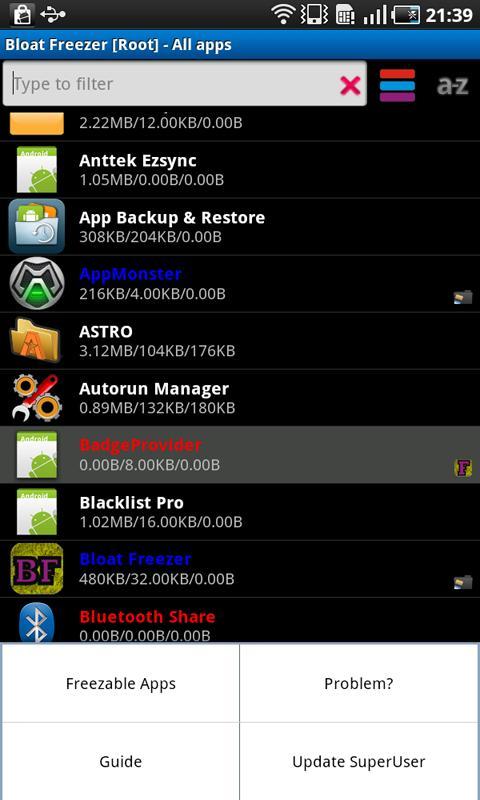 Bloatware Remover - screenshot