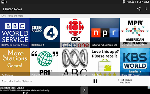 1 Radio News - World News Live and On-Demand- screenshot thumbnail