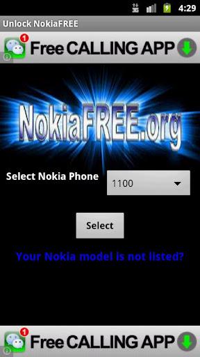 Unlock NokiaFREE