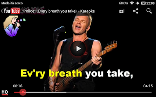 Screenshot of Karaoke Songs Tube Free