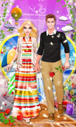 我們的蜜月假期- 女生時尚裝扮化妝遊戲